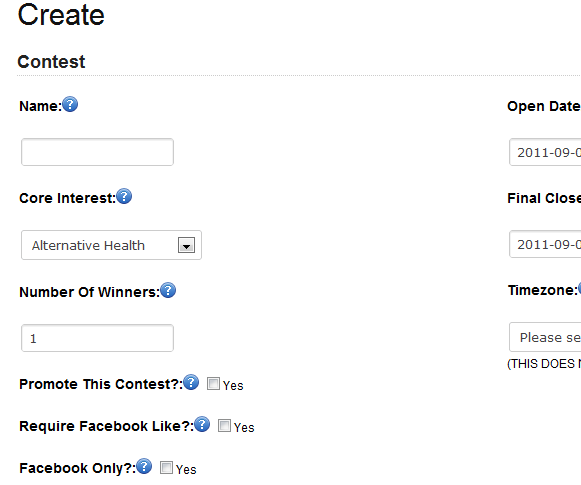 manage contests online