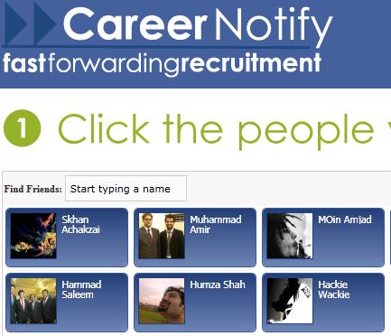 facebook friends employment