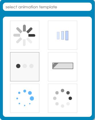 create loading icons