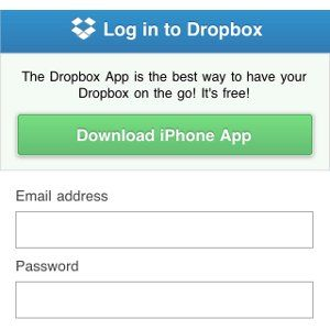 Dropbox's Mobile Website Gets New Look [News] dropboxnewsthumb