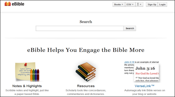 online bible reading