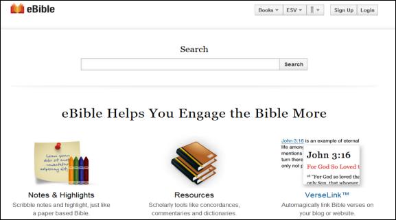 online bible reading