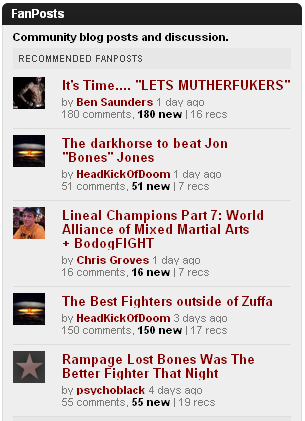 mixed martial arts websites