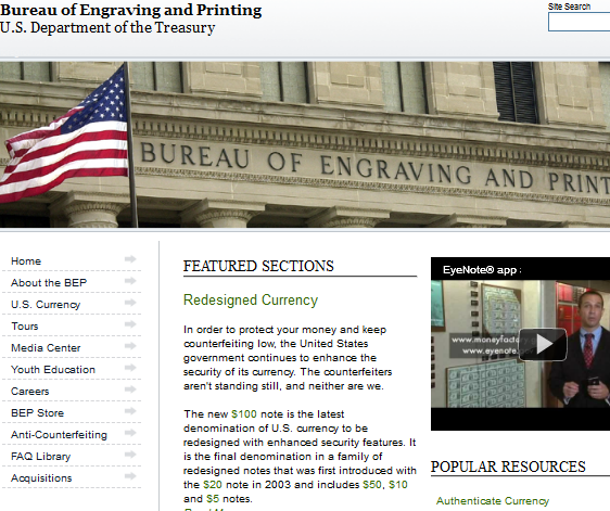 federal government websites