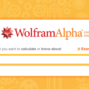 Let Wolfram Alpha Create Your Password For You