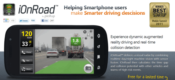 car collision alert