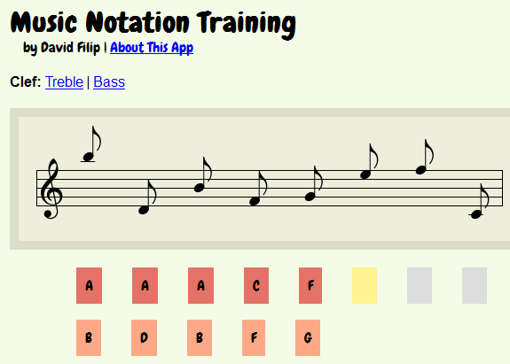 Reading music notes off a staff paper requires a lot of practice for