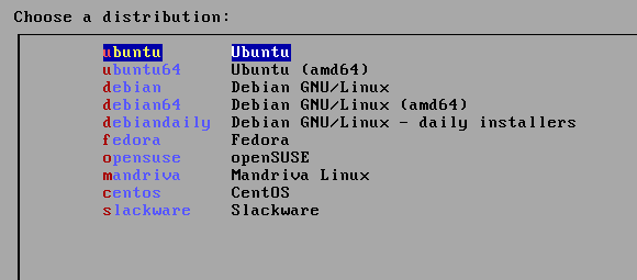 NetbootCD: Install Ubuntu, Fedora, Debian & More From One CD [Linux] netbootcd distros