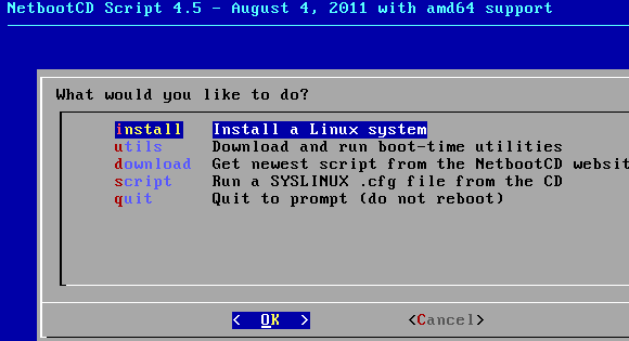 NetbootCD: Install Ubuntu, Fedora, Debian & More From One CD