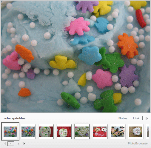 pic to browser   PictoBrowser: An Embeddable Viewer For Your Flickr & Picasa Photographs