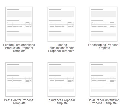manage proposals