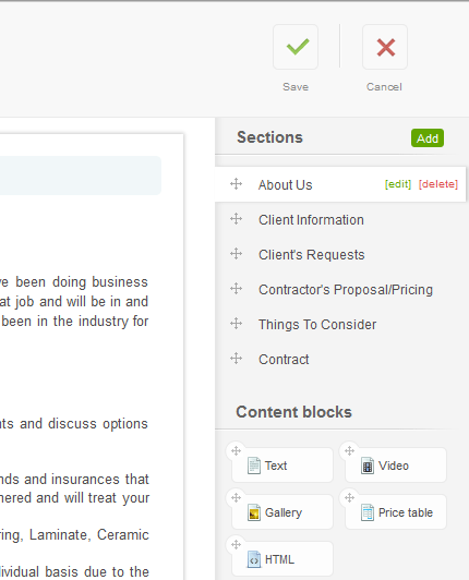 QuoteRoller: Easily Create & Manage Proposals Online quote roller2