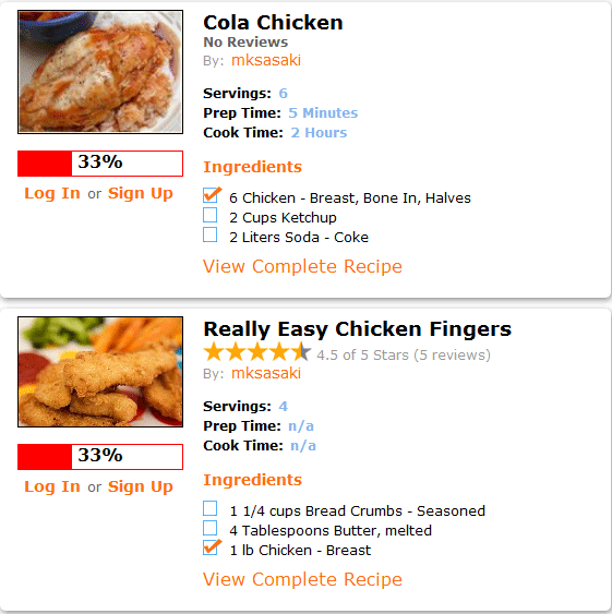 recipe matcher1   RecipeMatcher: Find Recipes Based On Ingredients You Have