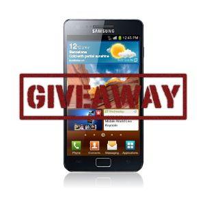Samsung Galaxy S II Giveaway