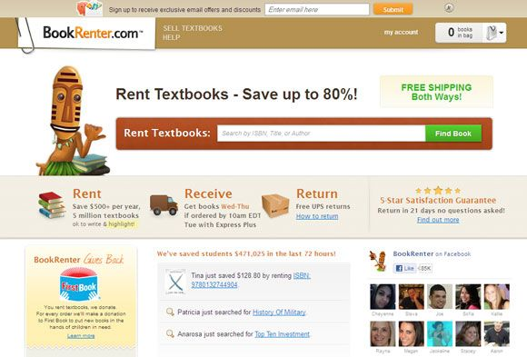 cheap college textbooks