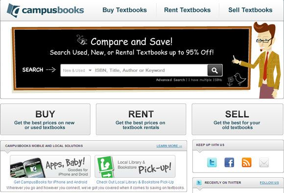 rent college textbooks