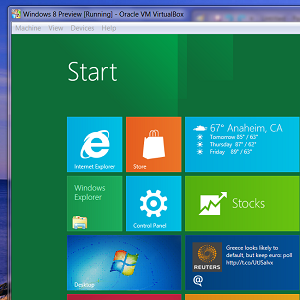 Try Out Windows 8 In VirtualBox Right Now For Free