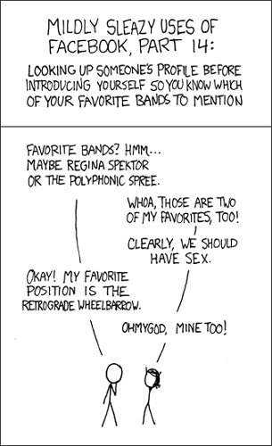 How Many Friends On Facebook Is Too Much? [Opinion] xkcd