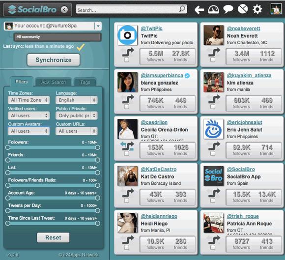 1013   SocialBro: Twitter Management Tool & Analytics (Chrome App)