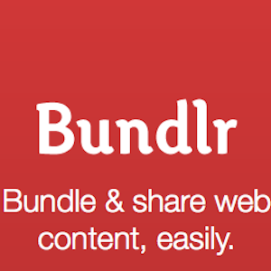 Bundlr – Easily Collect and Share (Cool) Stuff You Find Online on a Single Page