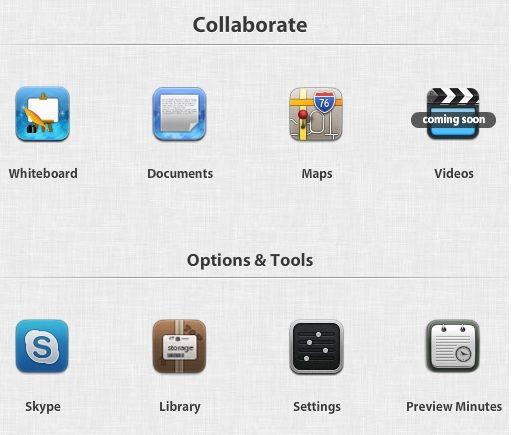 live document sharing