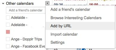 How To Get Your Facebook Birthdays Into Google Calendar Without Apps FacebookBirthdays Add By URL