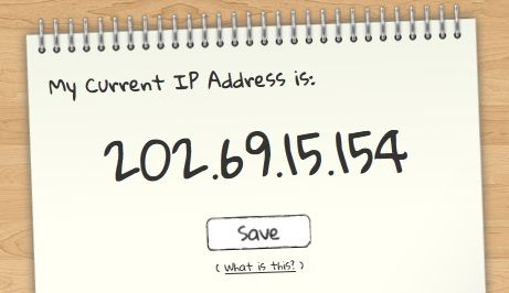 note ip address