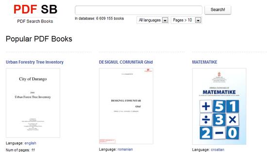 database of free ebooks