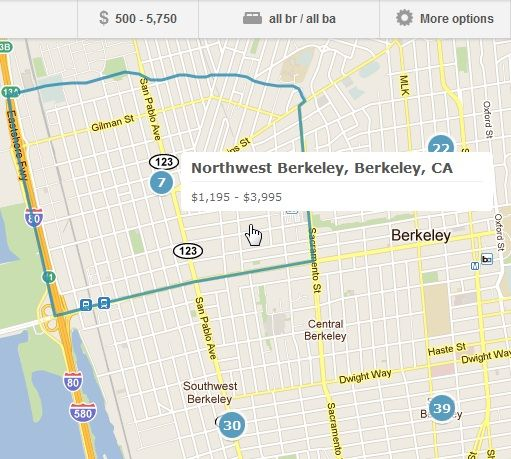 Map   Lovely: Easily Find Apartments That Suit Your Budget & Tastes