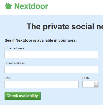 social network for neighbors