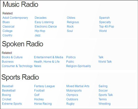 tunein radio for windows