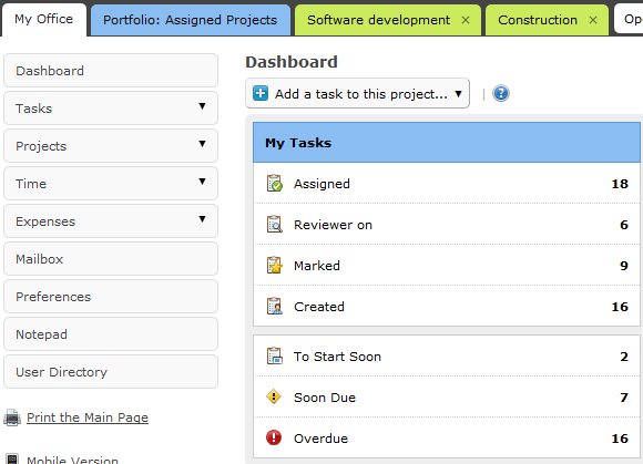 Ace Project: A Web App To Streamline Project Management aceproject1