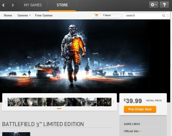 What's The Deal With EA's Origin & Is It Really That Bad? bf3