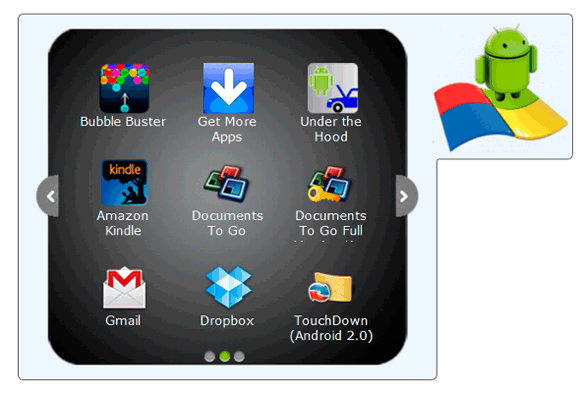 run android apps on windows pc