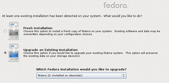upgrade fedora linux