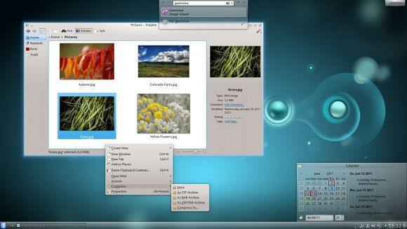 What's The Difference Between Linux Distributions If They're All Linux? [MakeUseOf Explains] kde screen