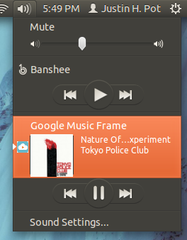 google music on ubuntu