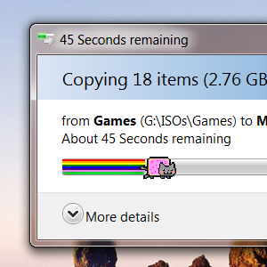 Add Nyan Cat To Your Progress Bars, Because It's Awesome