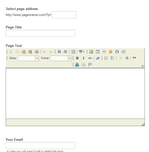 create simple webpages