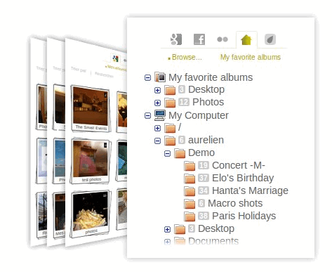 pictarine1   Pictarine: Access All Your Online Photos In One Place