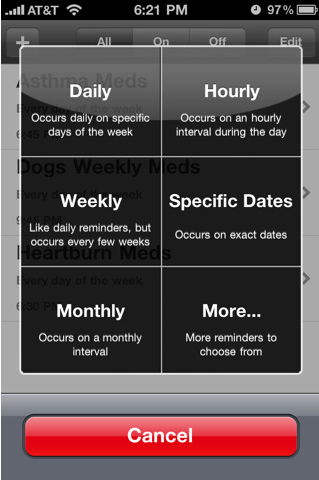 when to take your pills