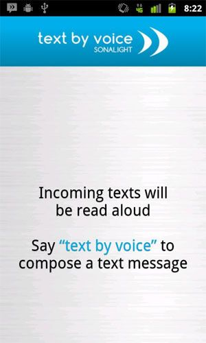 android read text messages out loud