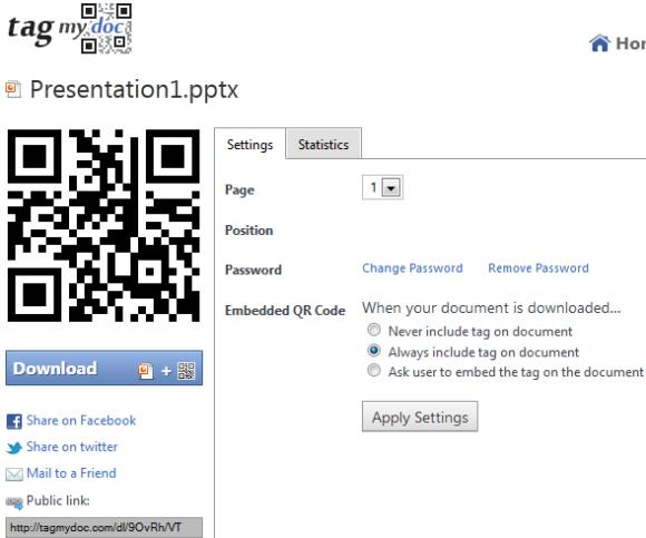 upload documents download