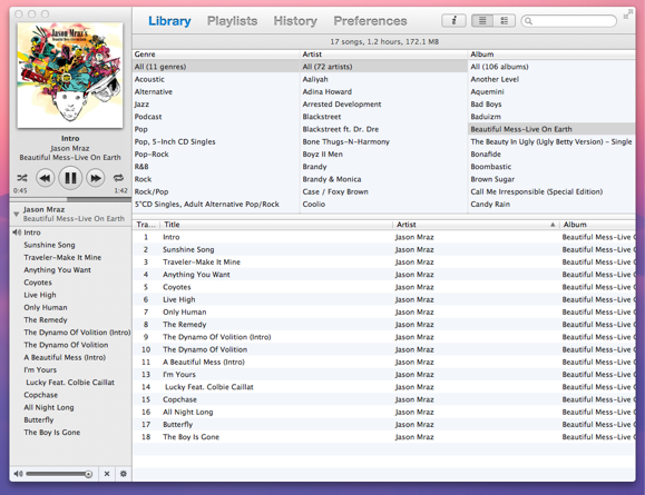 playlist manager