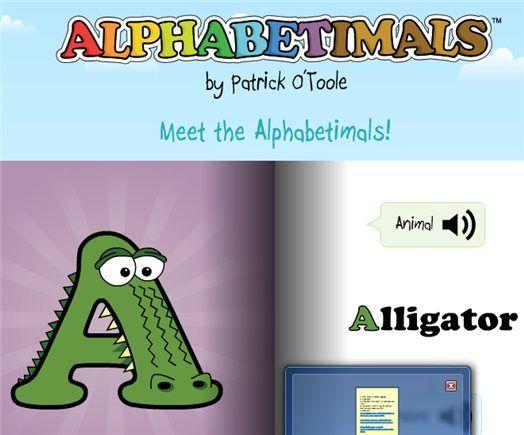 teach kids alphabet