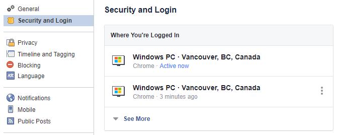 دخول الفيس بوك الصفحة الشخصية