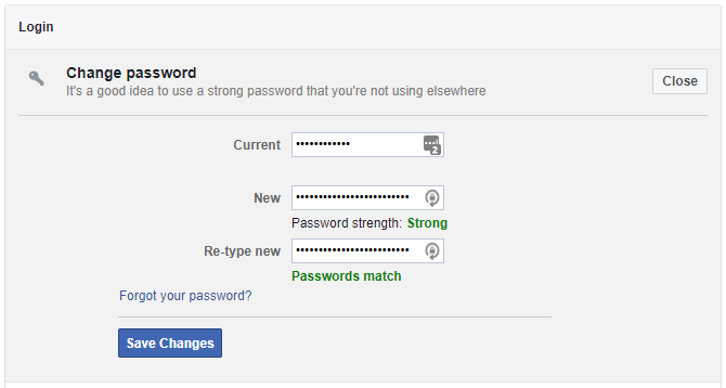 facebook logins and passwords