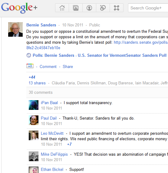 google for politics