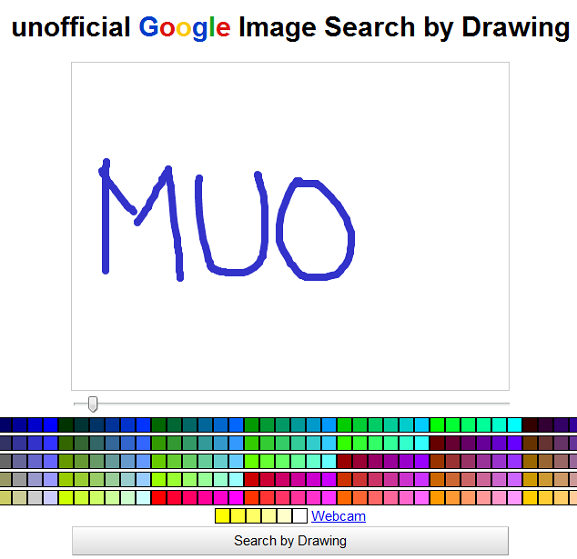 google image search by drawing