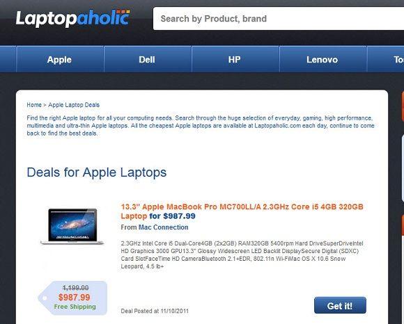 find the best laptop deals